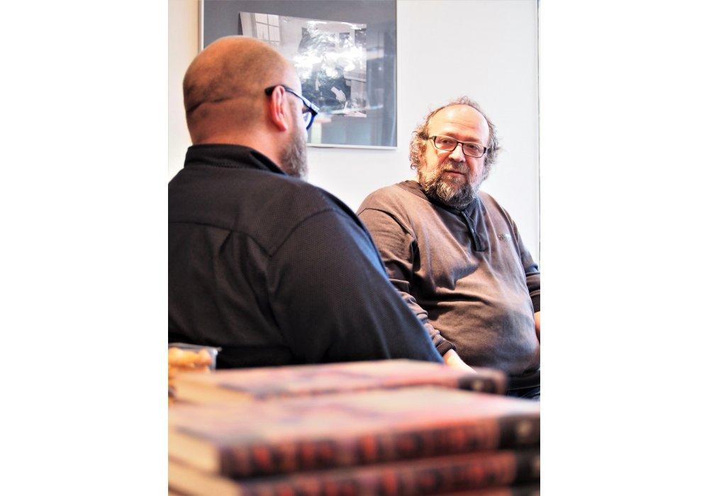 Márius Kopcsay o svojej novej knihe Stena - 2