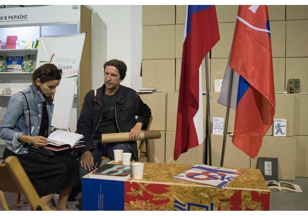 Slovensko na Knižnom Arzenale v Kyjeve - 2