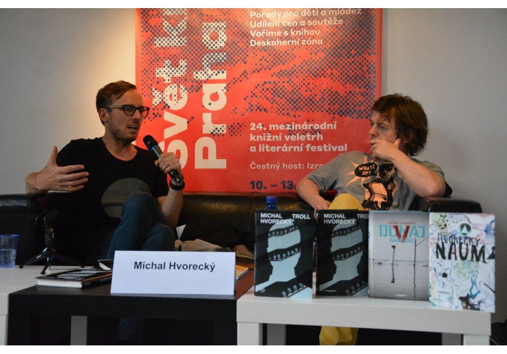 Slovenská literatúra na Medzinárodnom knižnom veľtrhu Svet knihy Praha 2018 - 5