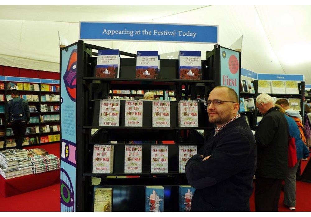 Peter Krištúfek na Edinburgh International Book Festival - 3