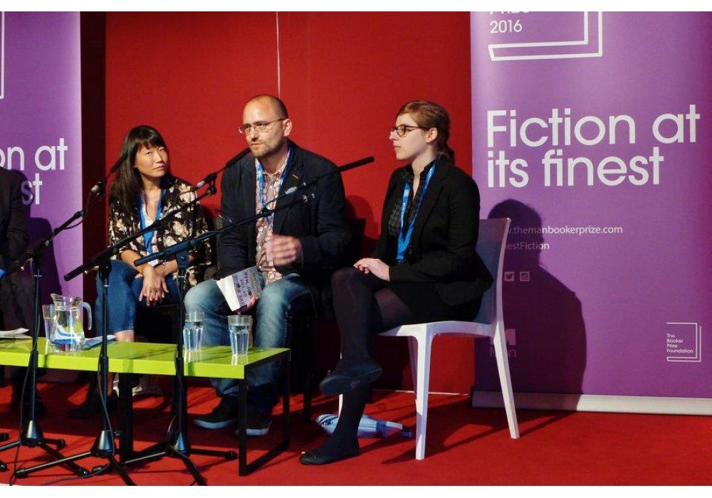 Peter Krištúfek na Edinburgh International Book Festival - 2