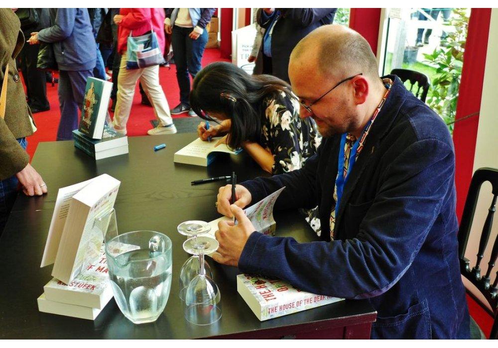 Peter Krištúfek na Edinburgh International Book Festival - 0