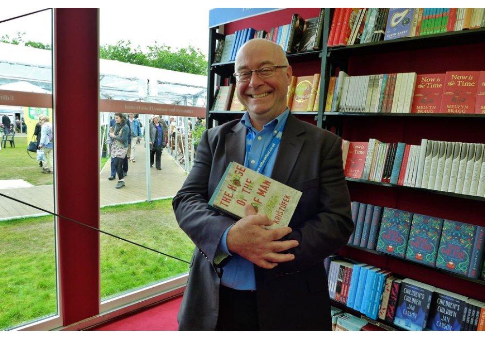 Peter Krištúfek na Edinburgh International Book Festival - 1