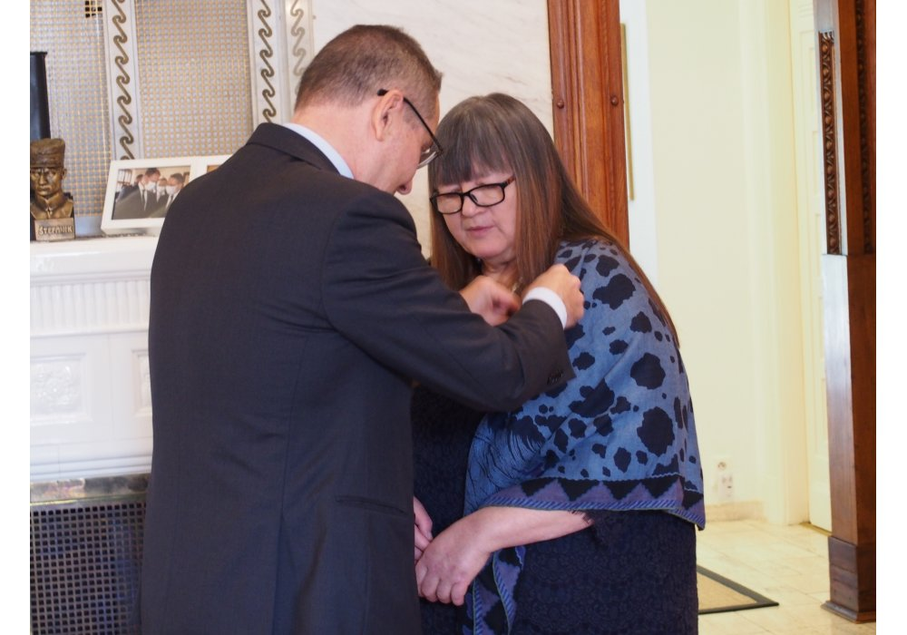 Miroslava Vallová Receives the Order of Arts and Letters - 1