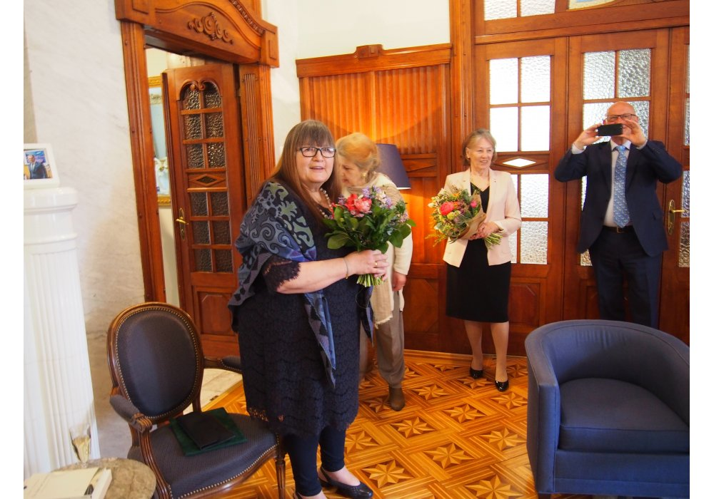 Miroslava Vallová Receives the Order of Arts and Letters - 2