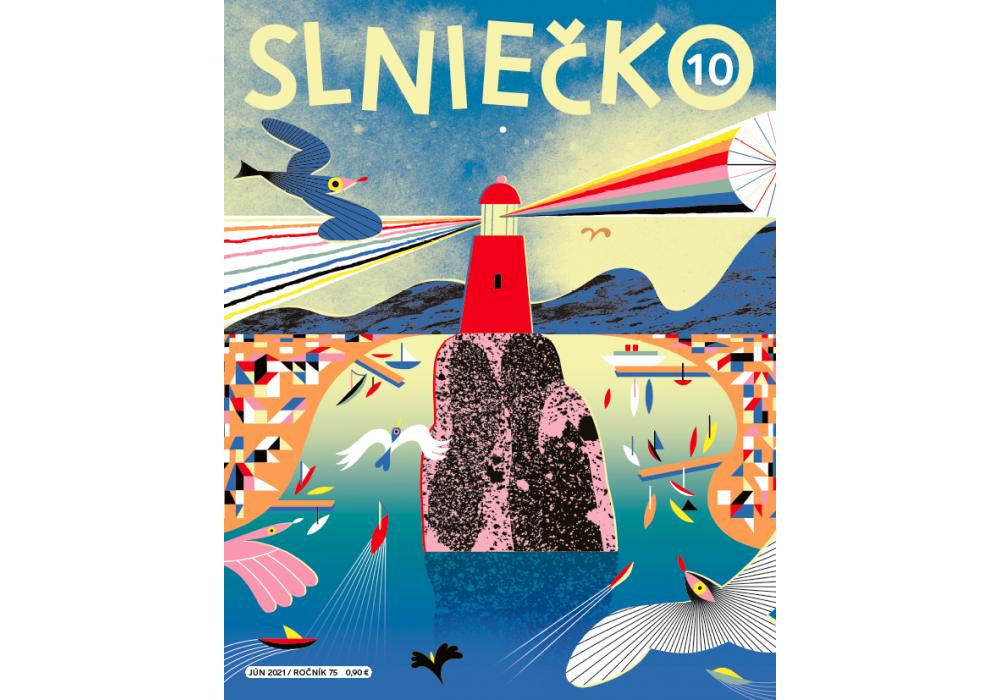 Posledné číslo 75. ročníka časopisu Slniečko - 0