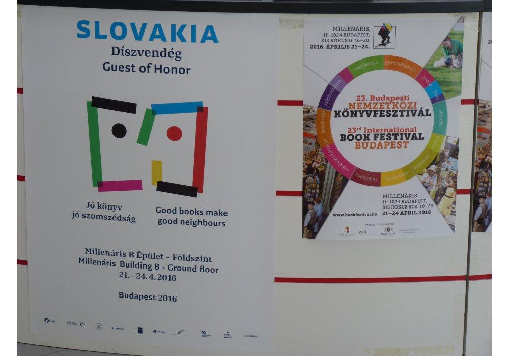 Medzinárodný knižný fetival Budapešť 2016 - čestný hosť Slovensko - 3