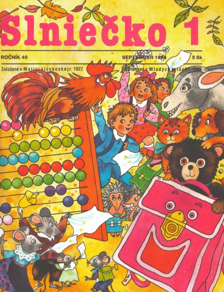 Slniečko_september_1994_Končeková_Veselá
