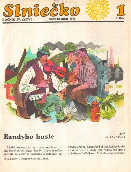 Obálka časopisu od Ferdinanda Hložníka