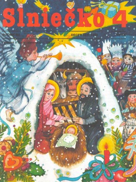 Slniečko_december_1998_Ľuba_Končeková-Veselá