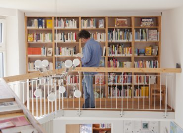Library at Translation House Looren
