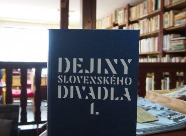 Vladimír Štefko a kol.: Dejiny slovenského divadla I.