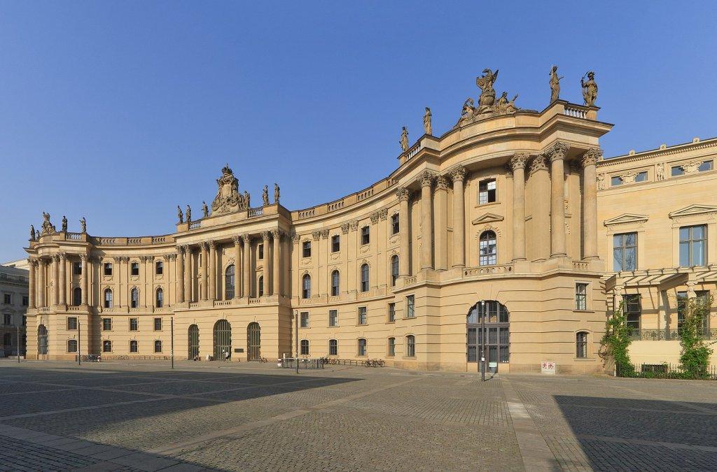Pavol Rankov a Márius Kopcsay na Humboldtovej univerzite v Berlíne
