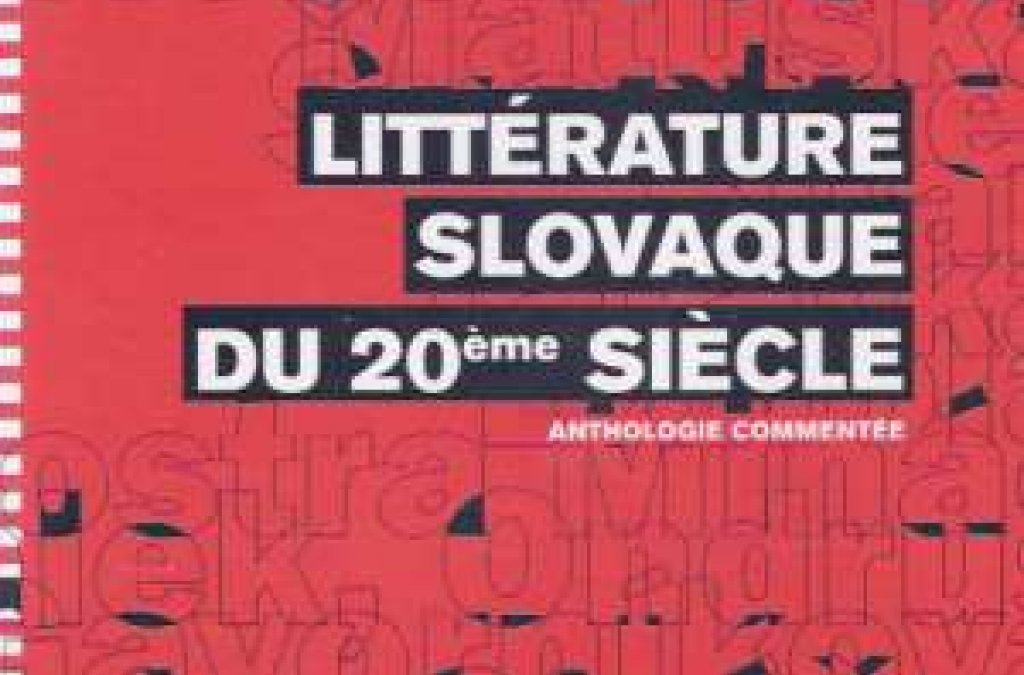 Slovenská literatúra 20. storočia po francúzsky