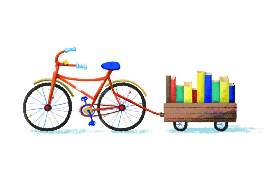 LICykel dovezie knihy aj vám