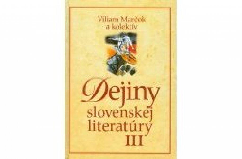 Dejiny slovenskej literatúry III v Prešove a Ružomberku