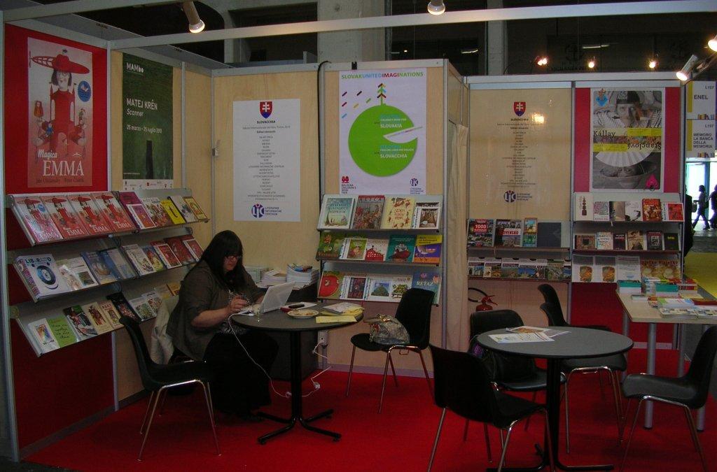 Medzinárodný knižný veľtrh v Turíne 2010