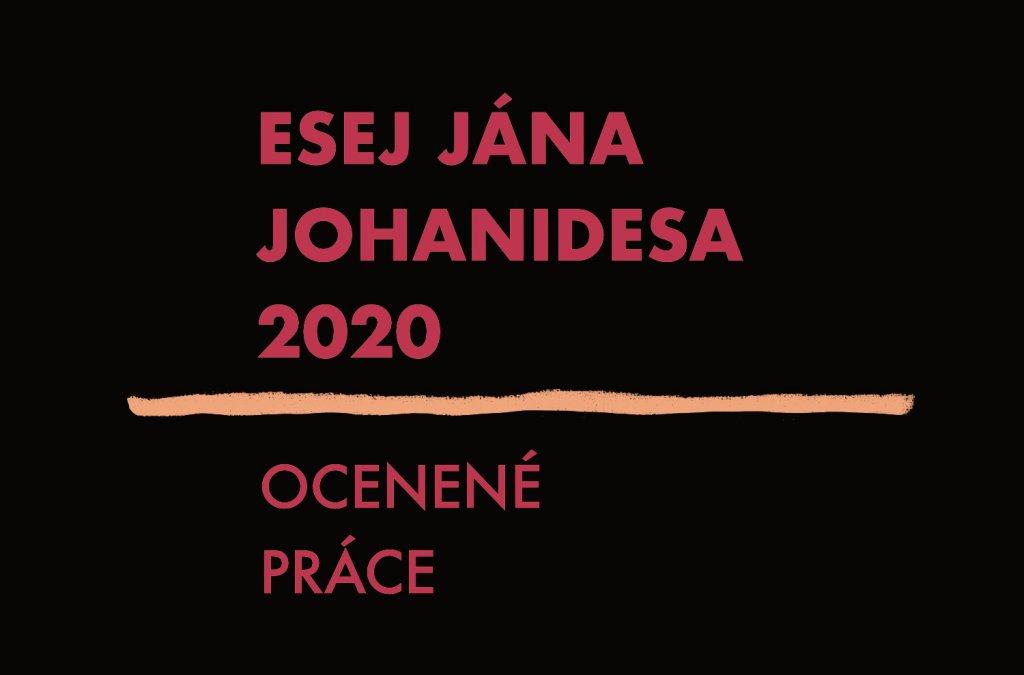 2. miesto v súťaži Esej Jána Johanidesa 2020