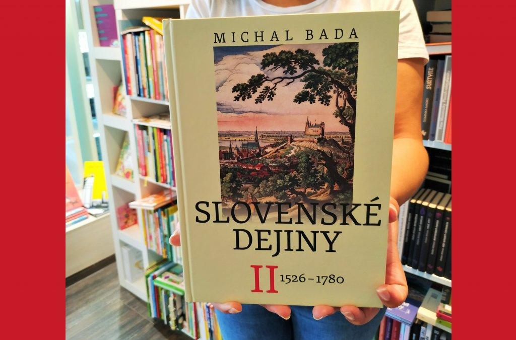 Dotlač titulu Slovenské dejiny II.