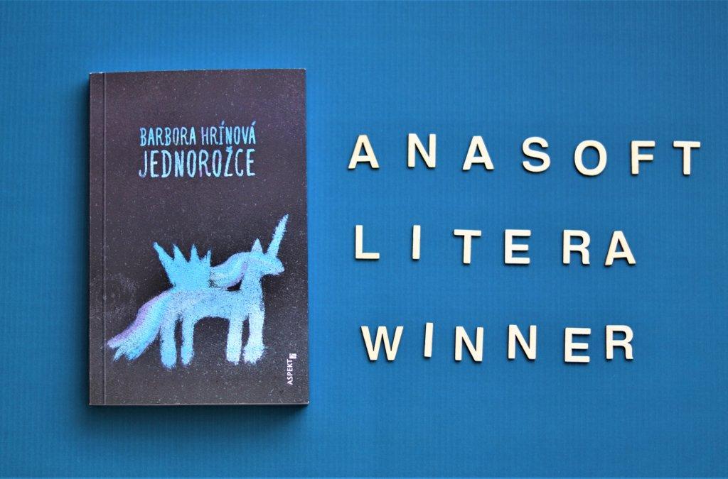 Barbora Hrínová Wins Anasoft Litera Award 2021