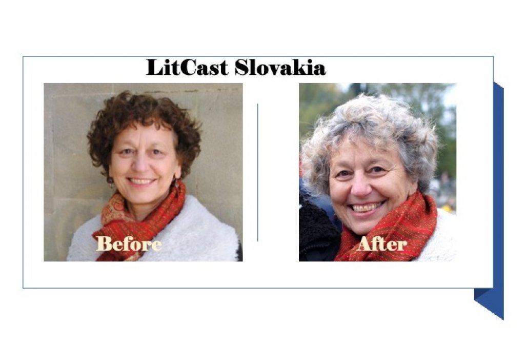 Lit_cast Slovakia #30: Júlia Sherwood