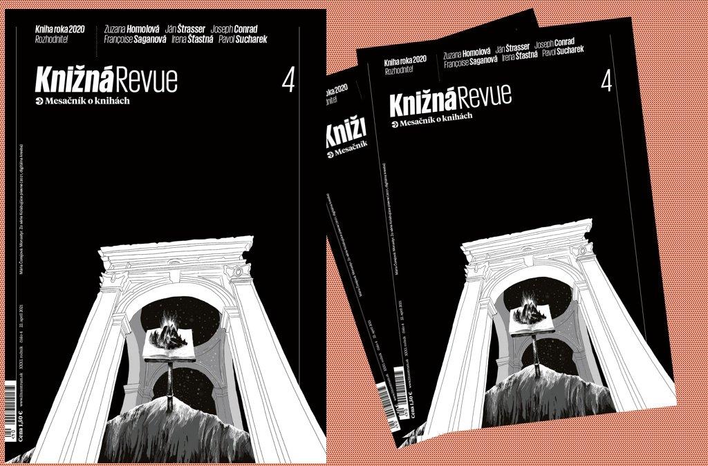Vychádza aprílové číslo Knižnej revue!