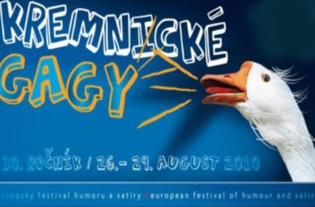 30. ročník európskeho festivalu humoru a satiry Kremnické gagy 2010