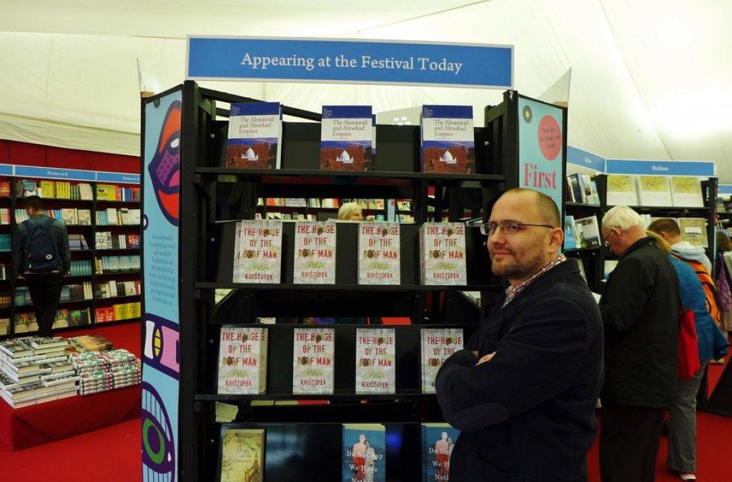 Peter Krištúfek na Edinburgh International Book Festival