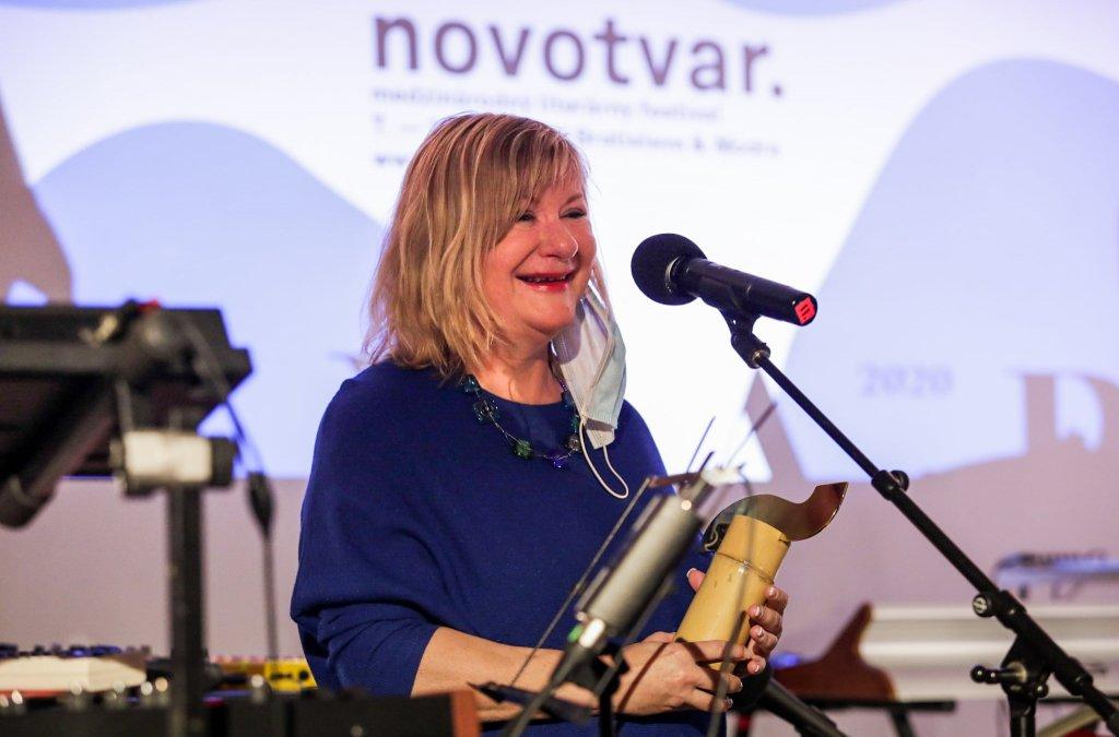 Eva Luka držiteľkou ocenenia Zlatá vlna