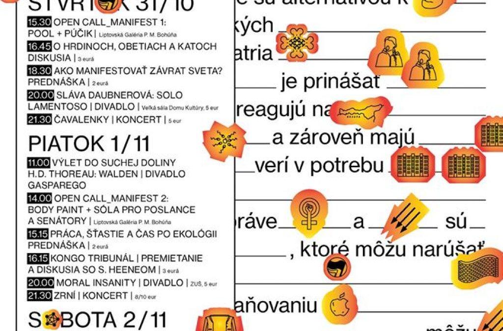Festival Mobilis s témou Manifest