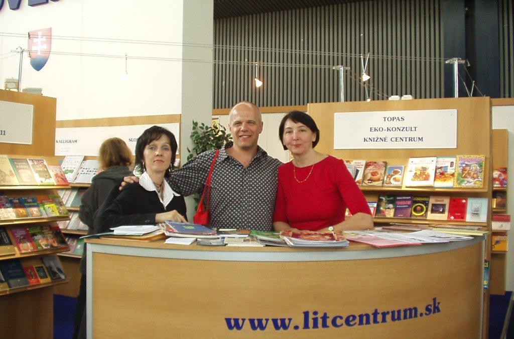 Desiaty raz na Světe knihy v Prahe