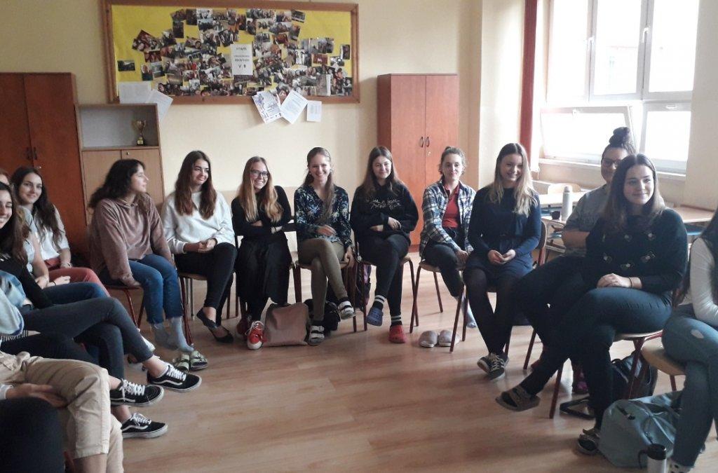 Ondrej Sokol na Evanjelickom gymnáziu v Košiciach