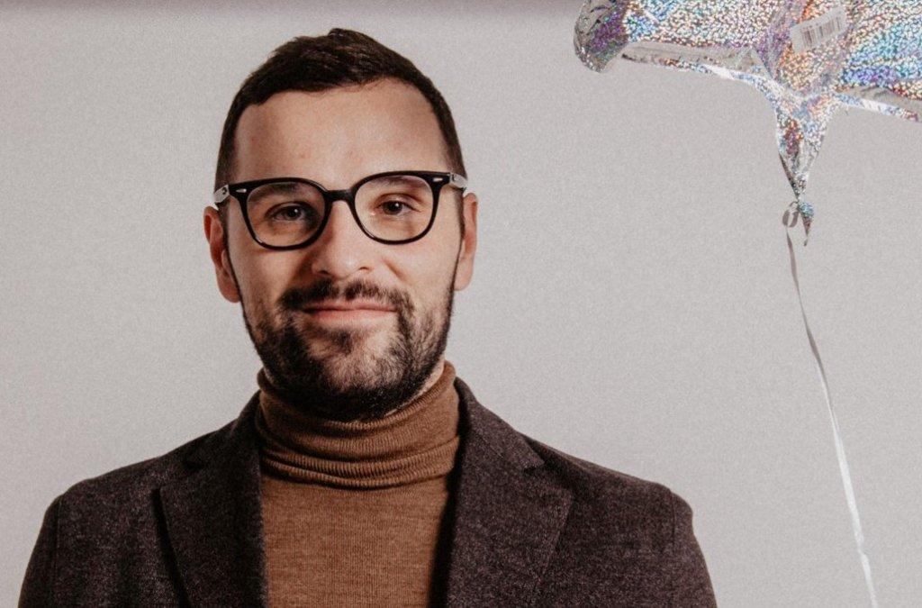 Básnik a novinár Bartosz Sadulski na štipendijnom pobyte v Bratislave