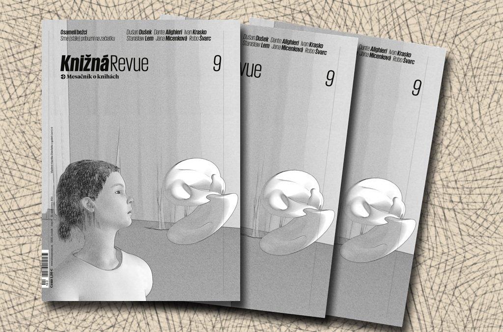 Vychádza septembrové číslo Knižnej revue!