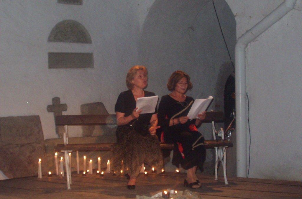Sestry Vášáryové a ich Svetlo v tme v programe Cap á l´Est