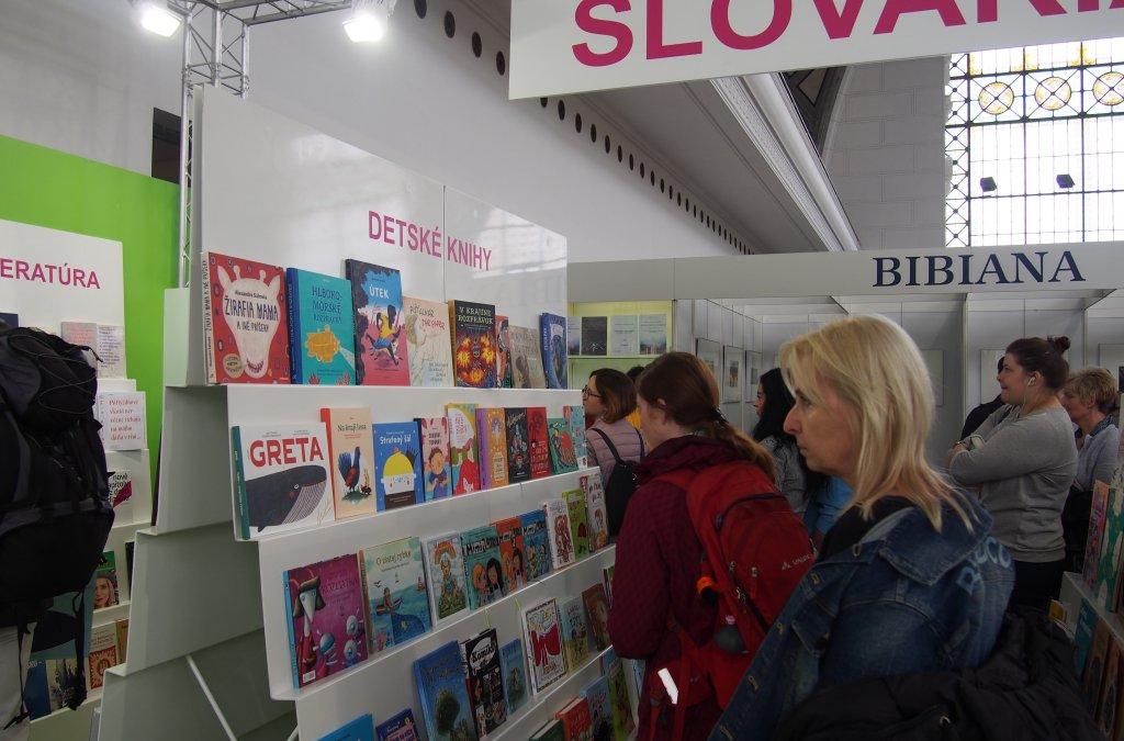 Svět knihy Praha 2019