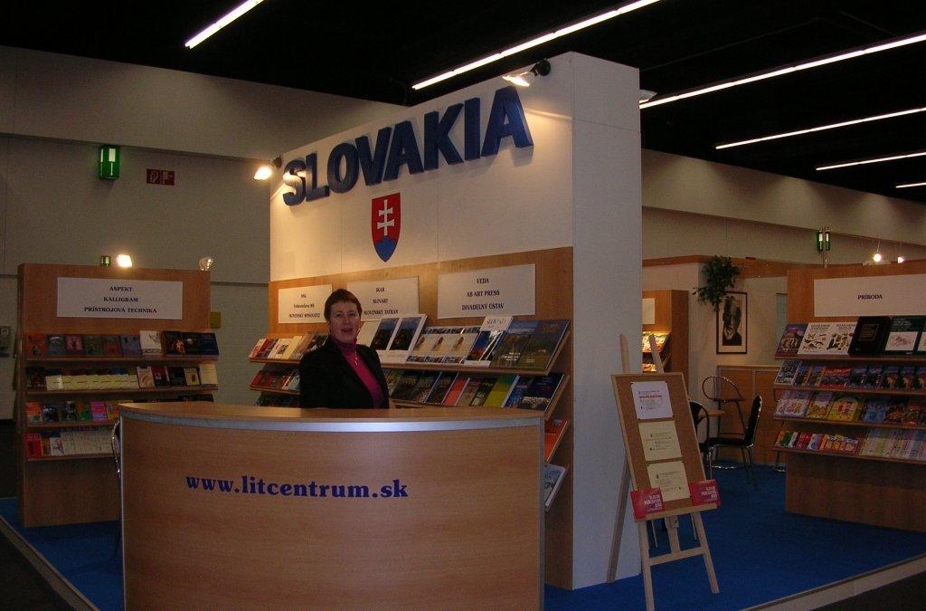 Medzinárodný knižný veľtrh vo Frankfurte nad Mohanom 2005