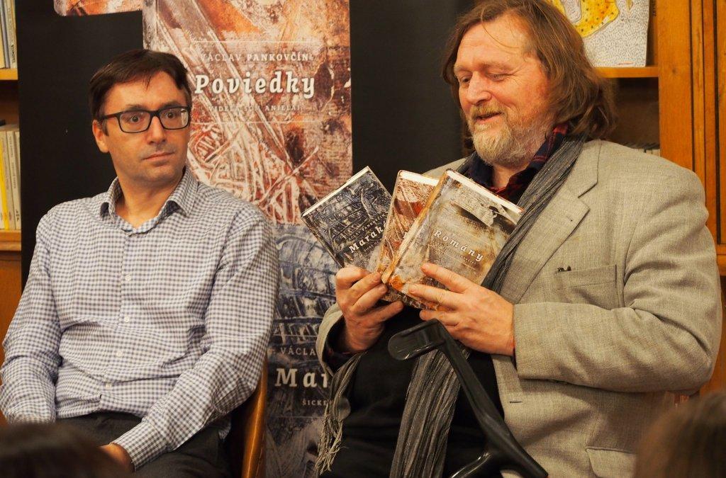 Romány, Poviedky a Marakéš Václava Pankovčína