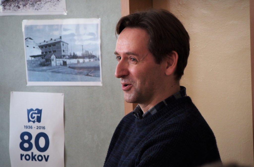 V Topoľčanoch čakali Ondreja Sokola dve besedy