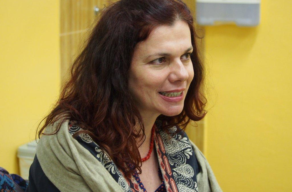 Denisa Fulmeková na besede CR v Malackách