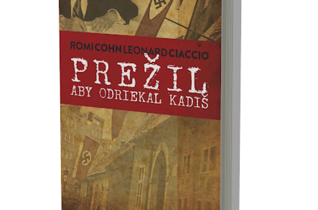 Privítali knihu bratislavského rodáka Romi Cohna