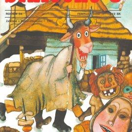 Slniečko_február_2000_Ľuba_Končeková-Veselá